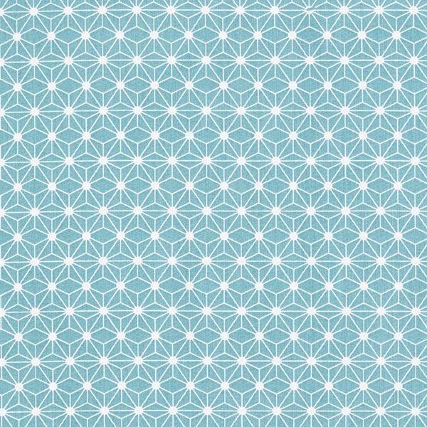 Tissu en coton Cretonne Petite étoile graphique – vert menthe