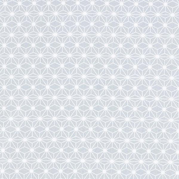 Tissu en coton Cretonne Petite étoile graphique – gris clair