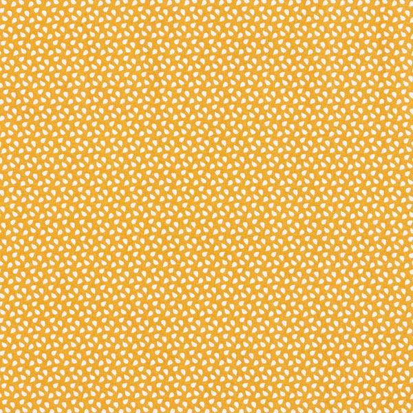 Tissu en coton Cretonne Taches – moutarde