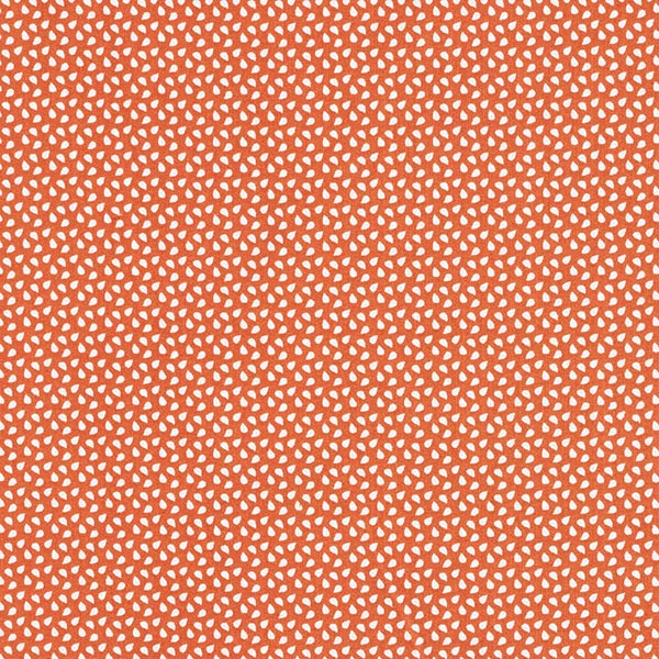 Tissu en coton Cretonne Taches – terre cuite