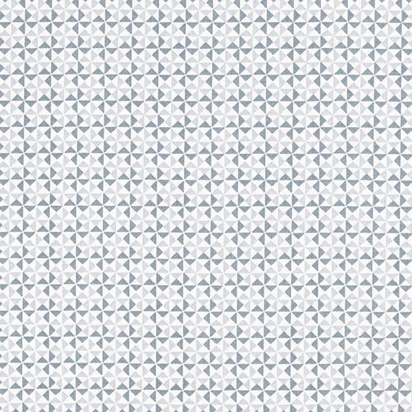 Tissu en coton Cretonne Petits triangles – gris