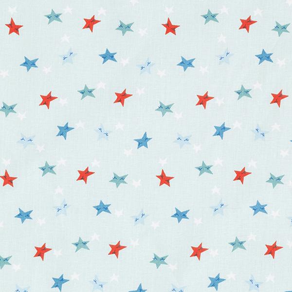 Tissu en coton Cretonne Étoiles dormantes – bleu