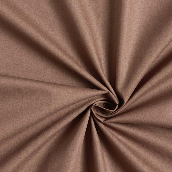 Tula Popeline coton GOTS – marron