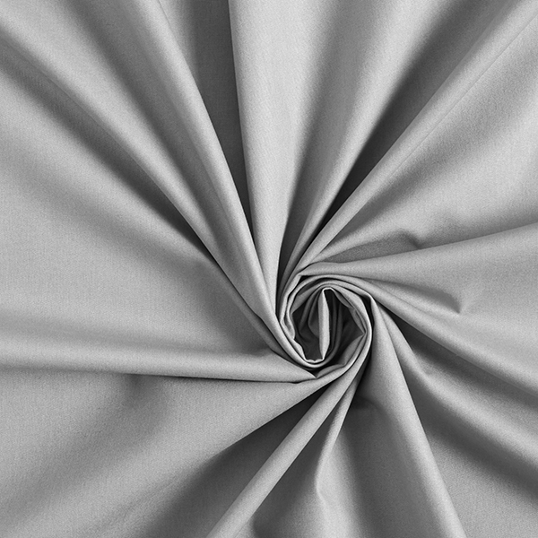 Tula Popeline coton GOTS – gris