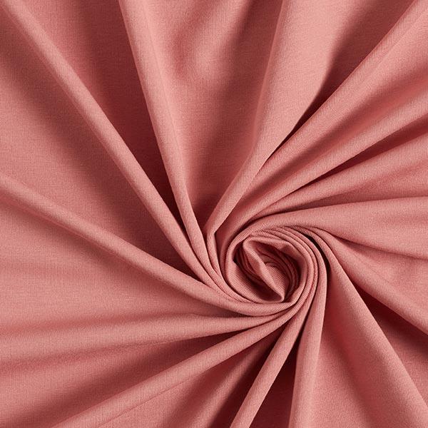 GOTS Jersey coton | Tula – vieux rose