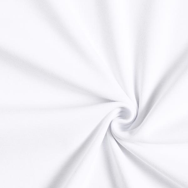 Tula Bord-côtes coton GOTS – blanc