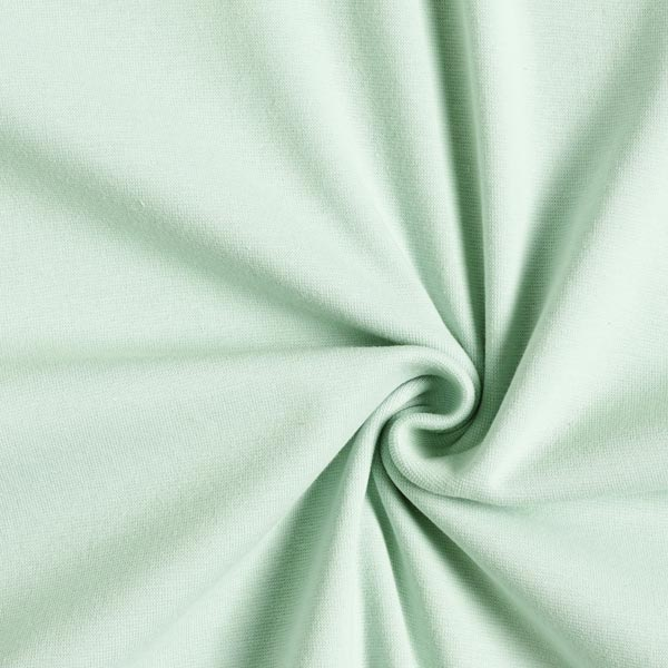Tula Bord-côtes coton GOTS – vert pastel
