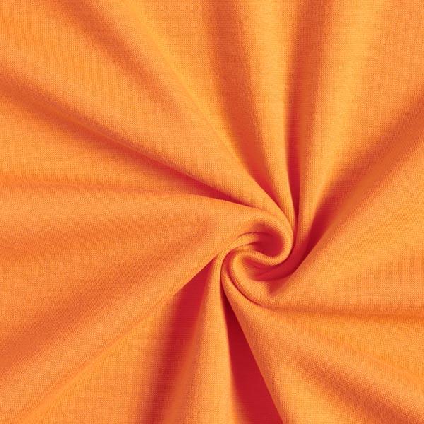 Tula Bord-côtes coton GOTS – orange