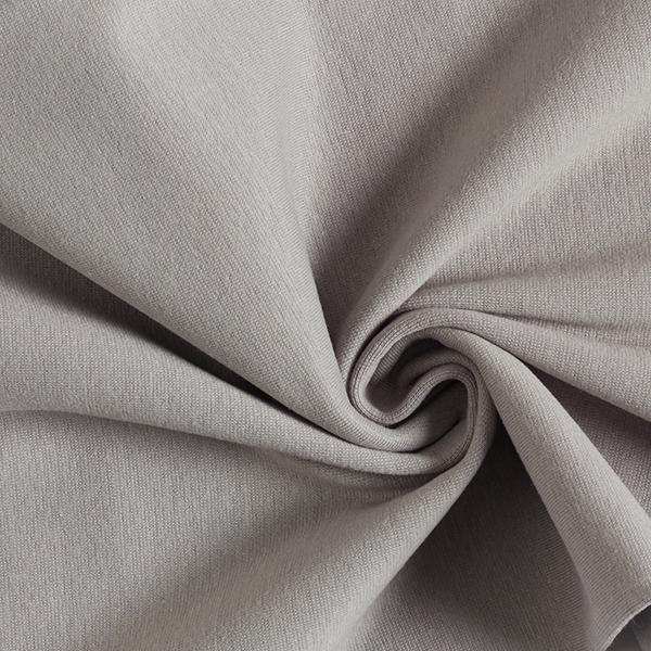 Tula Bord-côtes coton GOTS – gris
