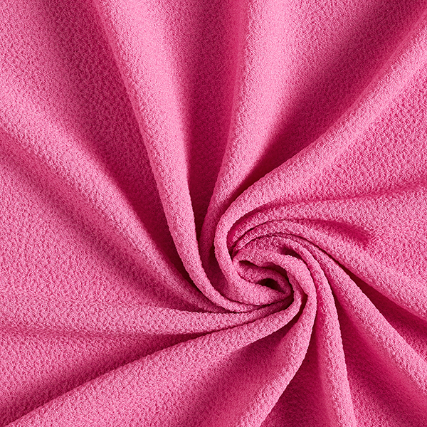Tissu pour chemisier Stretch smoké – rose vif