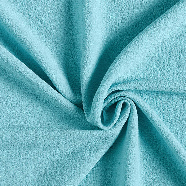Tissu pour chemisier Stretch smoké – bleu aqua