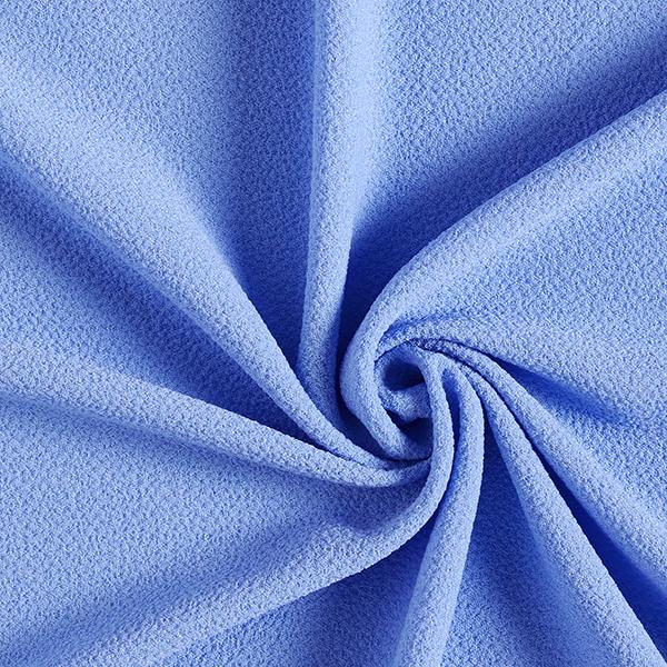 Tissu pour chemisier Stretch smoké – bleu clair