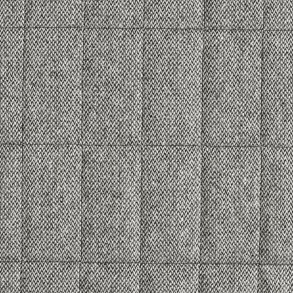 Mantel-Steppstoff Woll-Mix Melange – grau/weiss