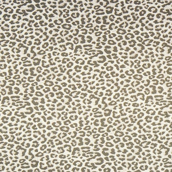 Tissu pour veste hydrofuge imprimé léopard – beige clair/kaki