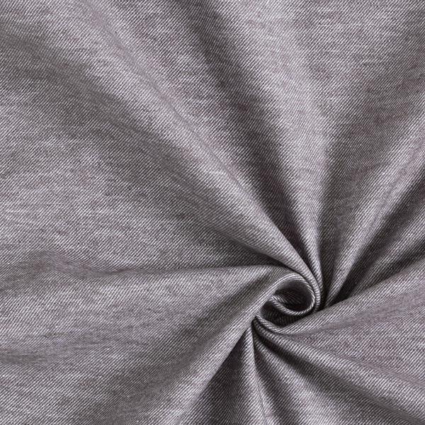 Twill de coton Look denim – gris