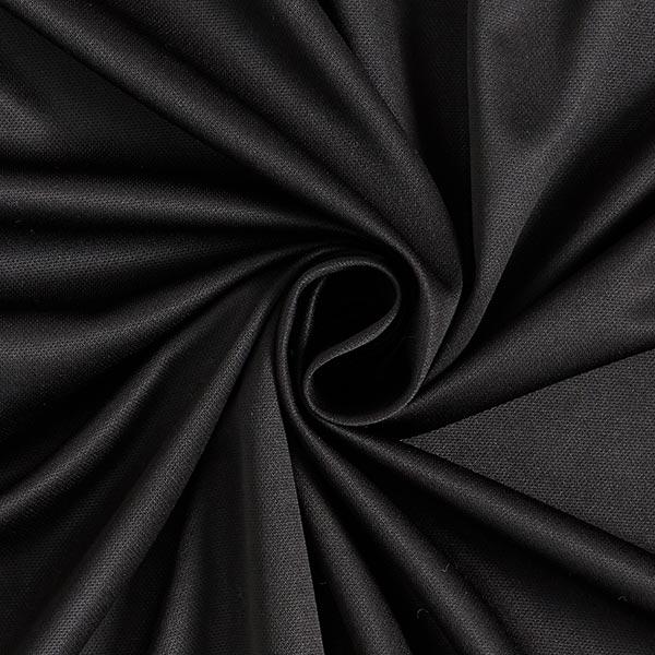 Wirkfutter Stretch uni – schwarz