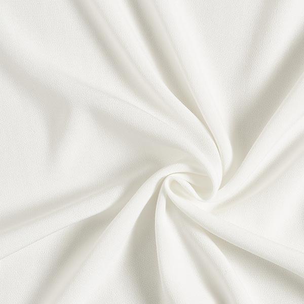 Tissu pour chemisier Crêpe viscose Uni – blanc
