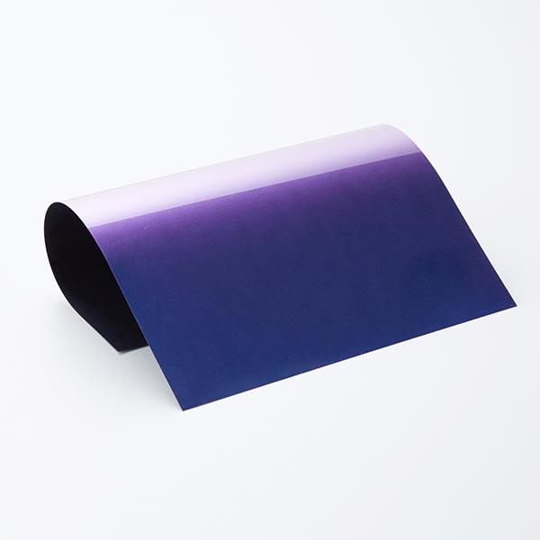 Flexfolie Chamäleon Din A4 – blau