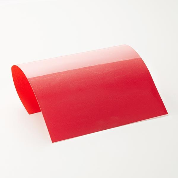 Film floqué film à repasser Din A4 – rouge