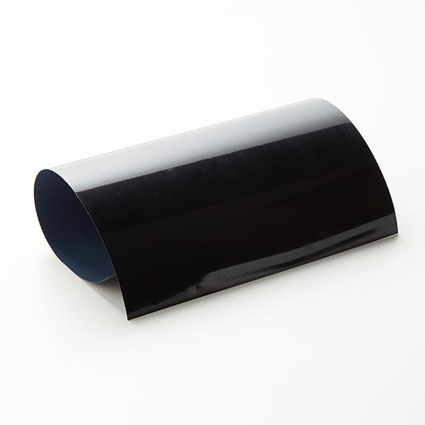 Bügelfolie Glossy Din A4 – schwarz