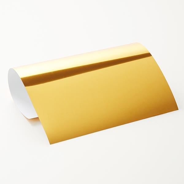 Bügelfolie Glossy Din A4 – gold