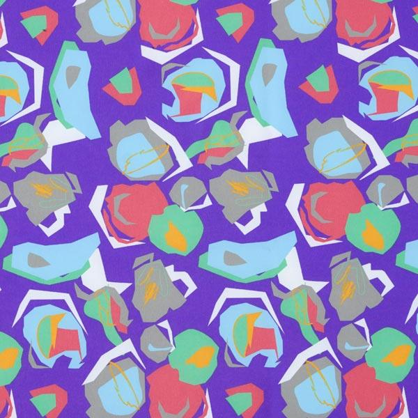Softshell Abstrakte Muster – lila/grau