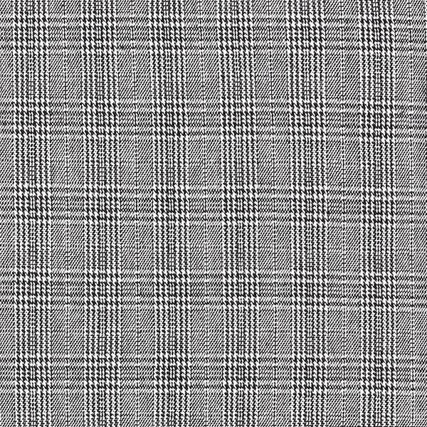 Bekleidungsjacquard Stretch Glencheck – schwarz/weiss
