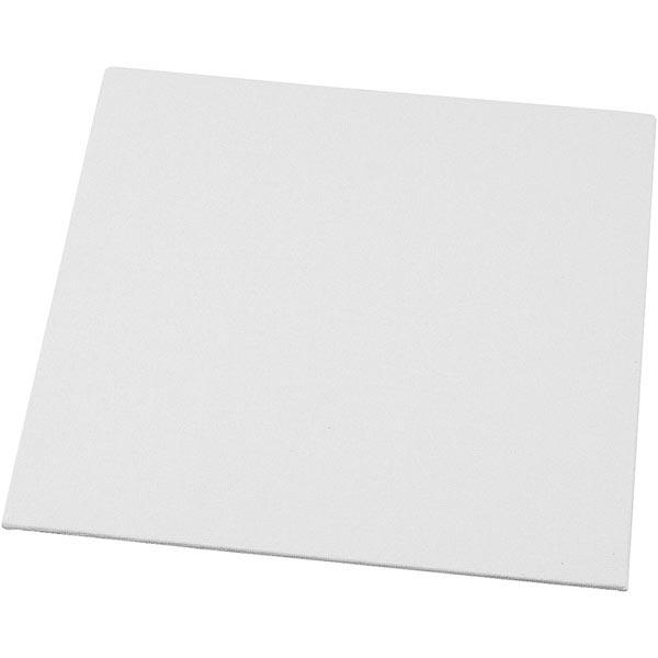 Carton entoilé [Dimensions: 20cm x 20cm] – blanc