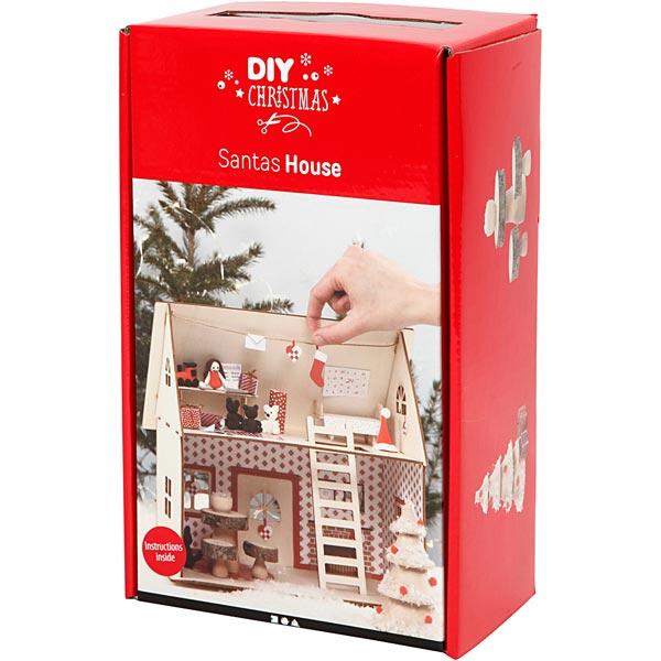 DIY-Set Weihnachtsmann Haus