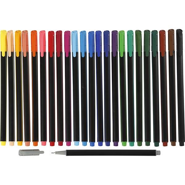 Colortime Fineliner [24Pièces ]