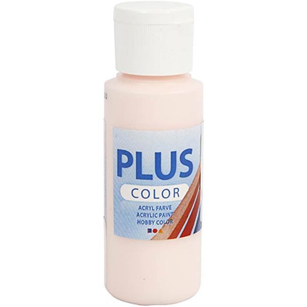 Plus Color Peinture pour loisirs créatifs [ 60 ml ] – rosé