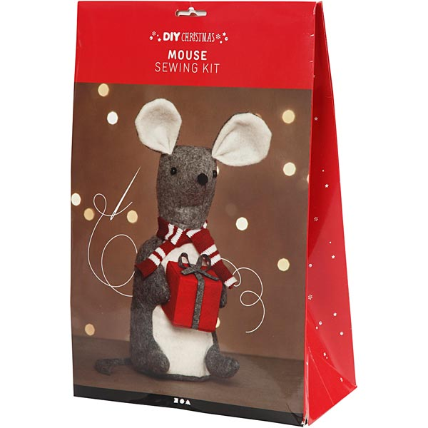 Kit de matériel pour Souris de Noël [ 1 Pièces ]