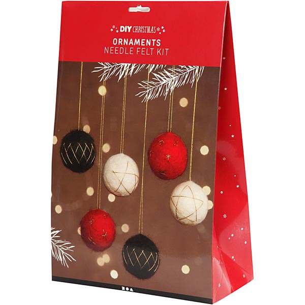 Materialset Weihnachtsbaumkugeln [ 6 Stück ]