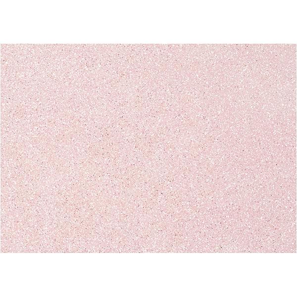 Glitzer-Filz ,10 Stück [ A4 ] – rosa