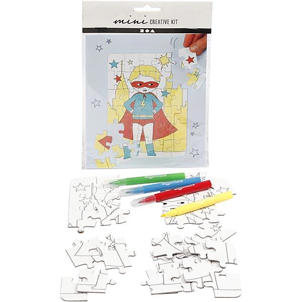 Mini set créatif Puzzle - Super-héro