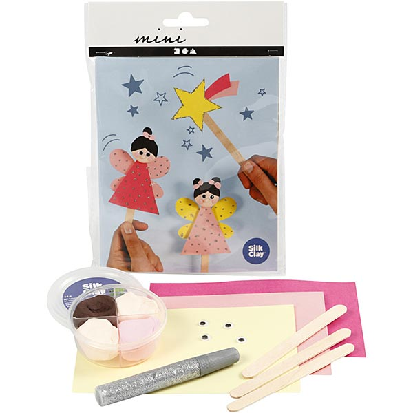 Mini set créatif Figurines de bâtonnets de glace - Princesse