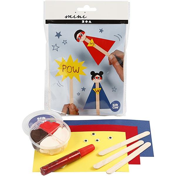 Mini set créatif Figurines de bâtonnets de glace - Super-héro