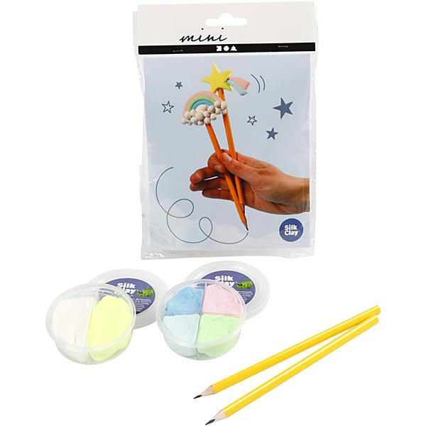 Mini Kreativ-Set Modellieren - Bleistifte