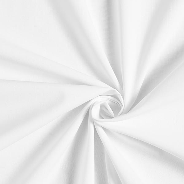 Popeline antimicrobienne – blanc