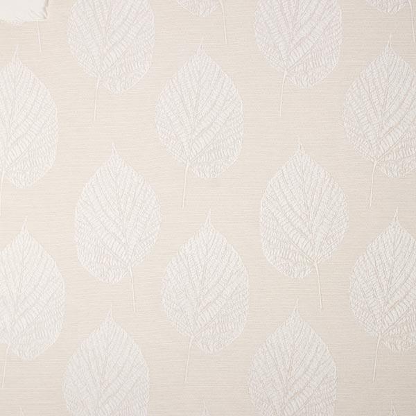 Tissu de décoration jacquard Structure de feuilles – nature