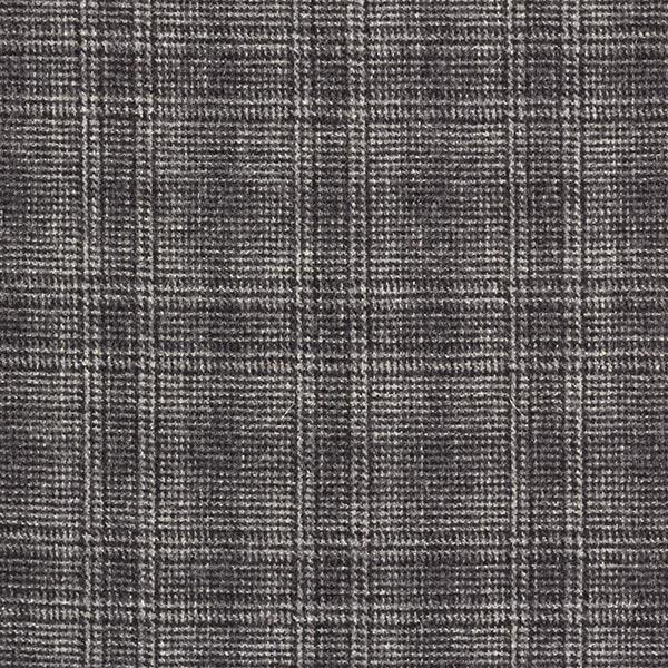 Tissu pour pantalon et costume Mélange laine vierge Prince-de-Galles – anthracite