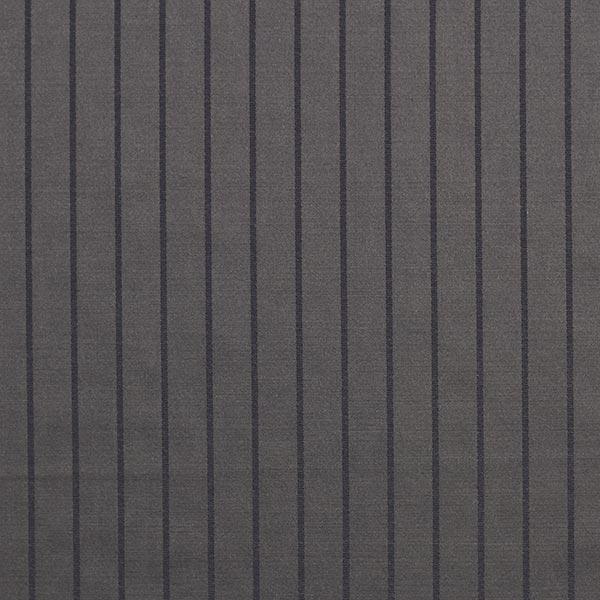 Tissus pour costumes et tailleurs Mélange laine vierge Elégantes rayures verticales – noir