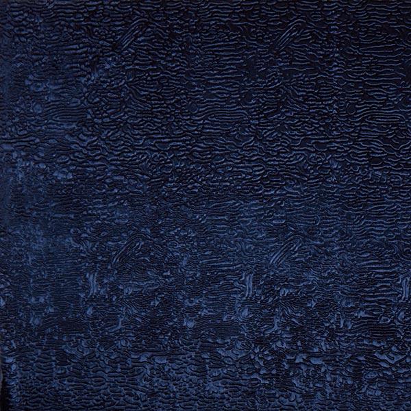 Kunstfell Krimmeroptik Wellen – navy