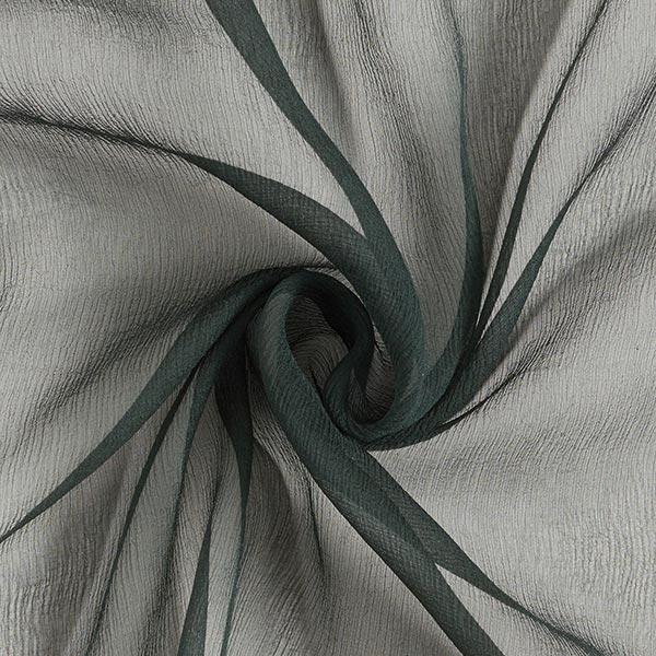 Crêpe de soie très vaporeux uni – vert foncé