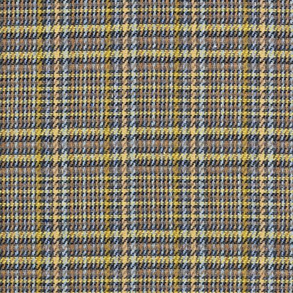 Tissu de manteau léger Prince de Galles – jaune/beige