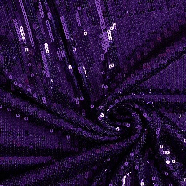 Paillettenstoff – lila