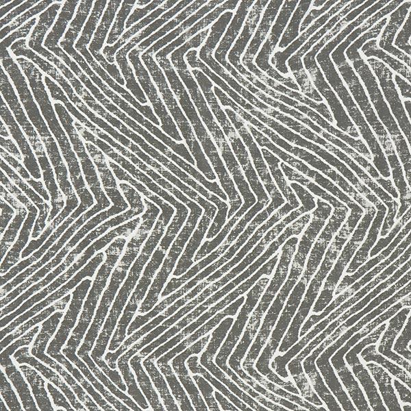 Dekostoff Canvas Blattadern – grau