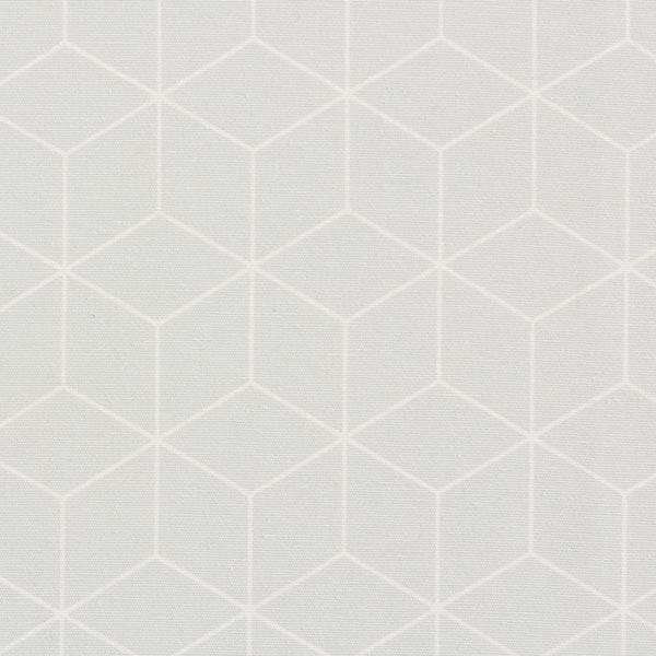 Dekostoff Canvas grafische Sterne – hellgrau