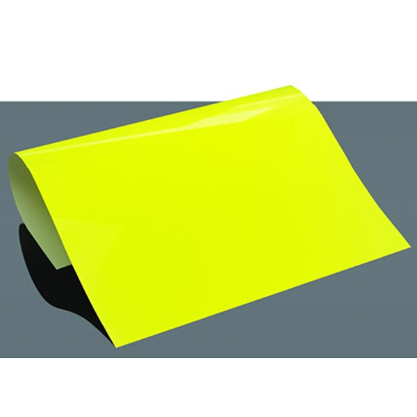 PREMIUM Flexfolie Poli-Flex DIN A4 Neon – neongelb