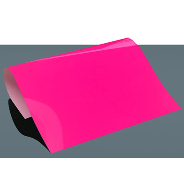 Film flexible PREMIUM Poli-Flex DIN A4 Fluo – rose néon